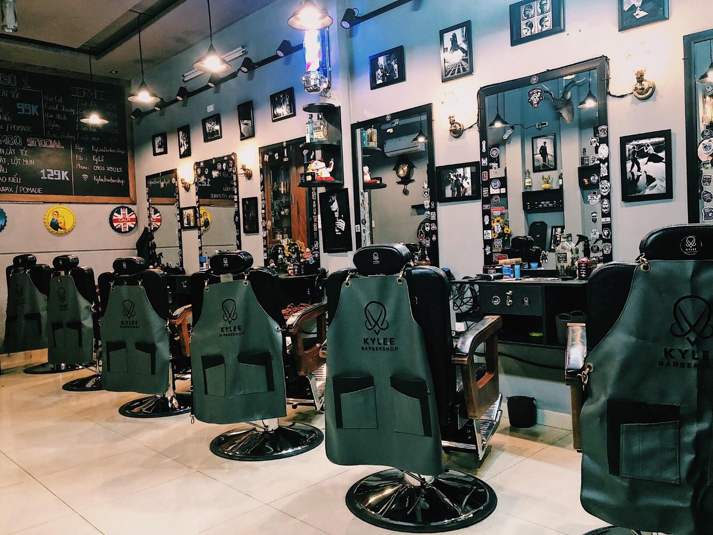 """Ky Lee Barber shop – Tiệm cắt tóc """"cực chất"""" dành cho các quý ông - Ảnh 9."""