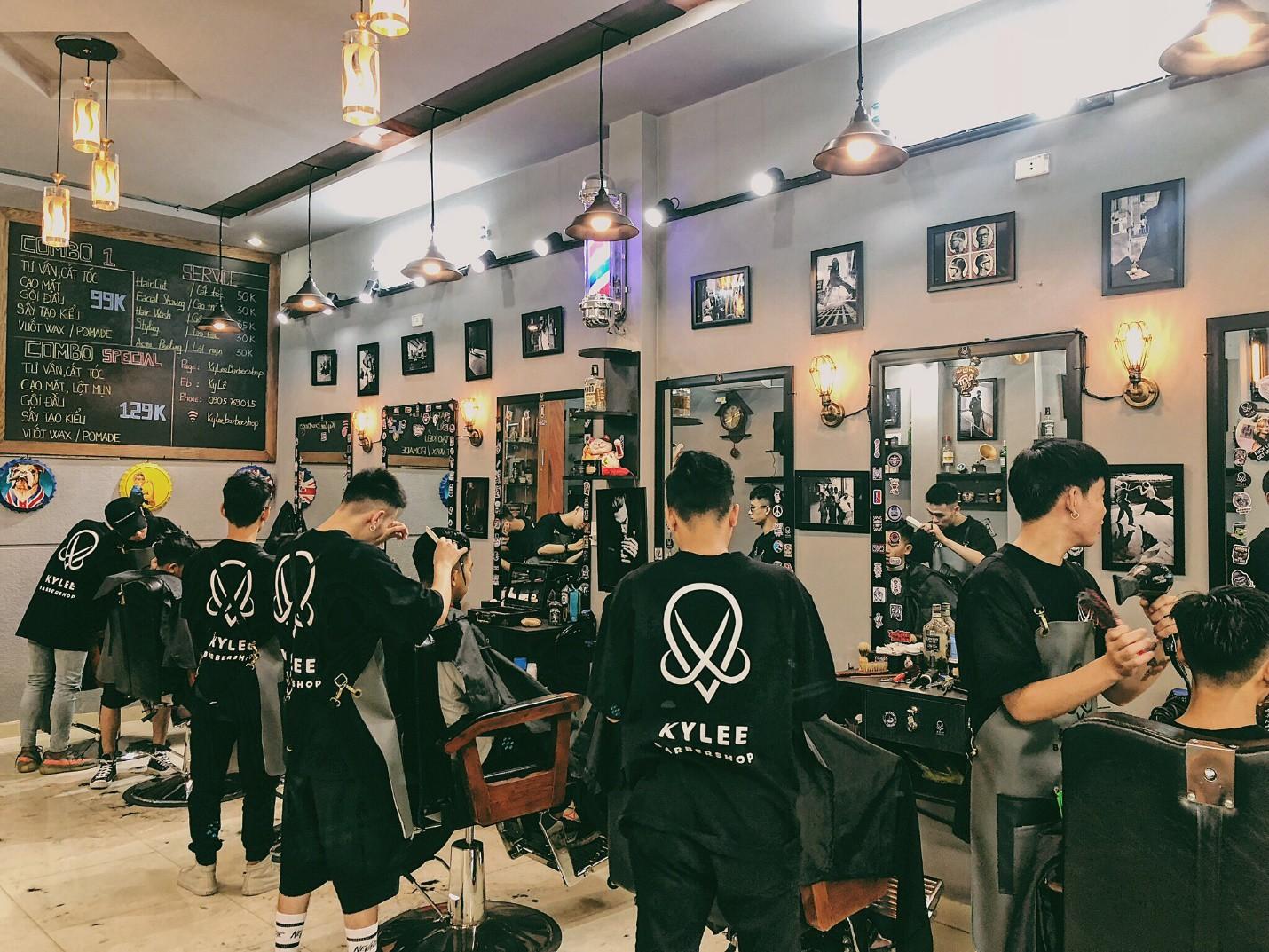 """Ky Lee Barber shop – Tiệm cắt tóc """"cực chất"""" dành cho các quý ông - Ảnh 10."""