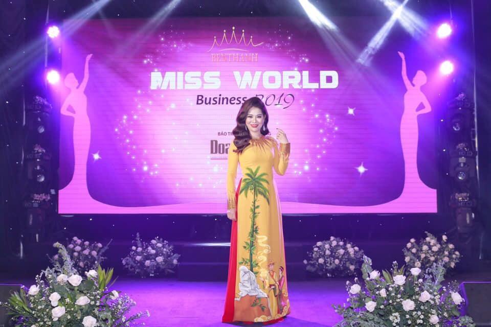 Top 10 Miss World Business 2019 gọi tên nữ doanh nhân trẻ Hoàng Thị Mỹ Phương - Ảnh 1.