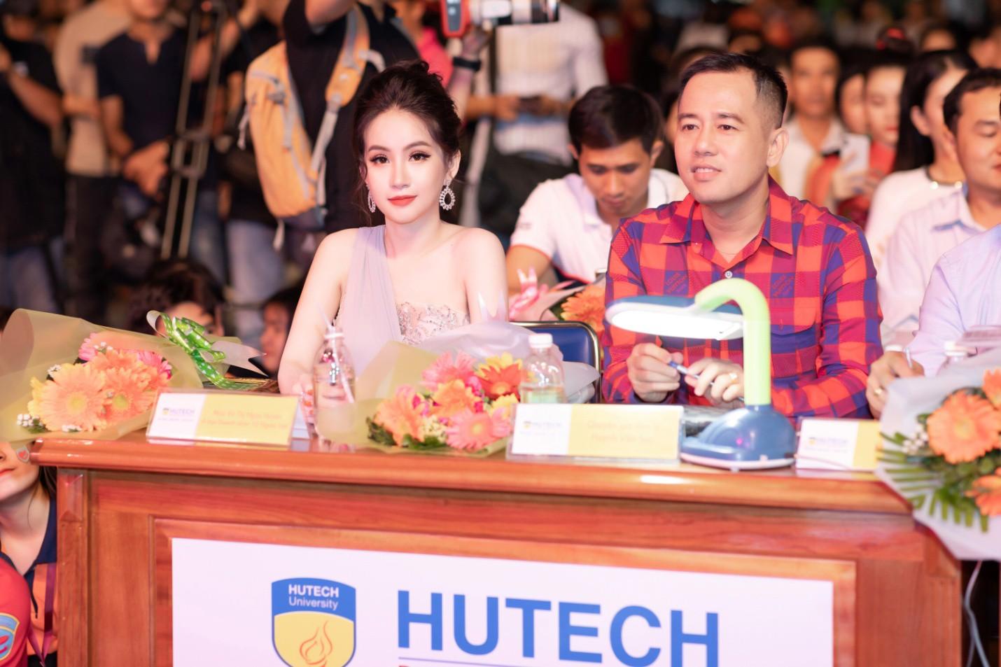 CEO – Doanh nhân Huyền Cò: Giám khảo quyền lực đêm Gala Chung kết Miss HUTECH 2019 - Ảnh 8.