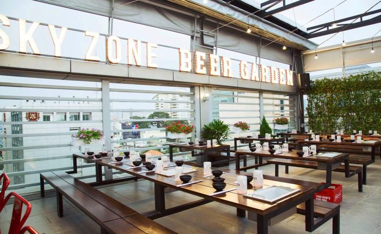 Nhà hàng Sky Zone - Địa chỉ quen thuộc của các thực khách sành ăn - Ảnh 1.