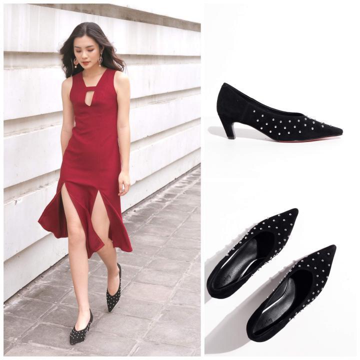 Chọn giày Tết sành điệu như fashionista - Ảnh 1.