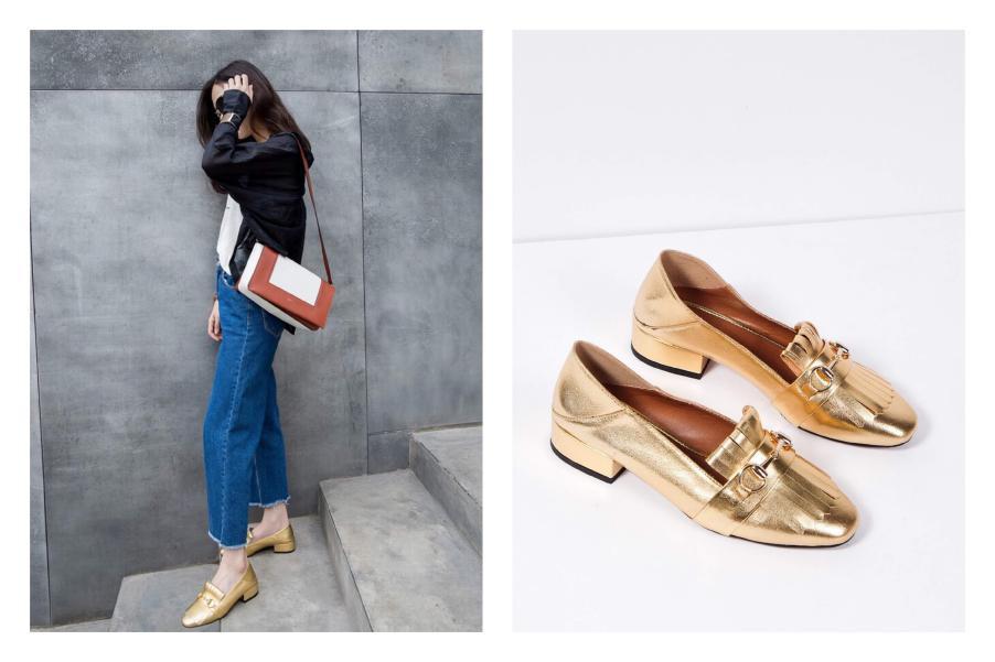 Chọn giày Tết sành điệu như fashionista - Ảnh 4.