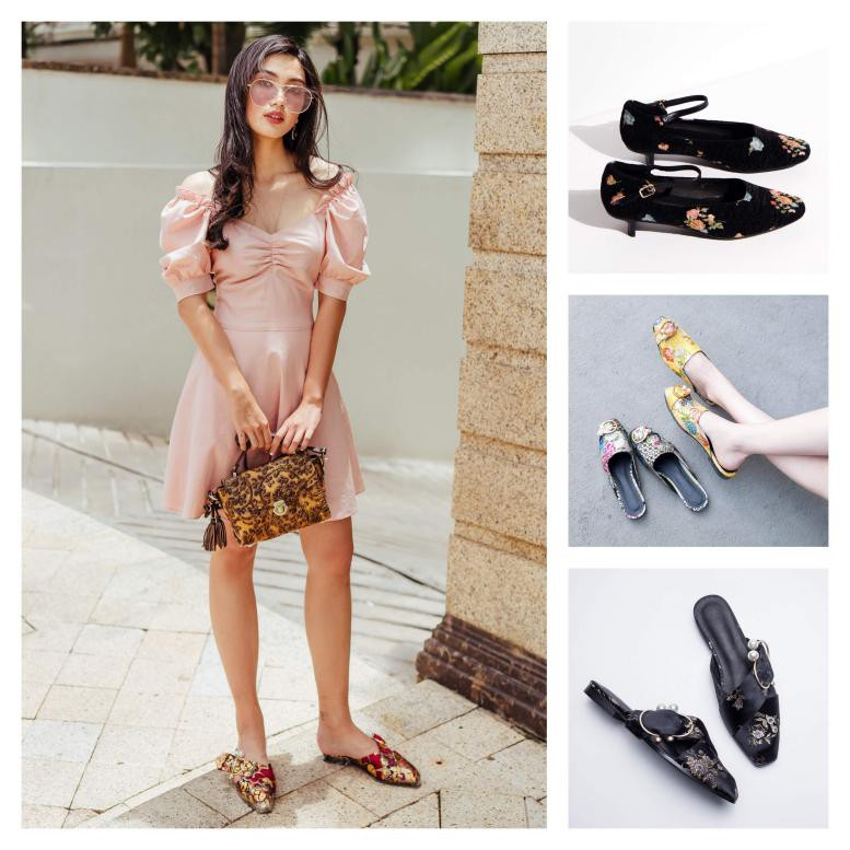 Chọn giày Tết sành điệu như fashionista - Ảnh 5.