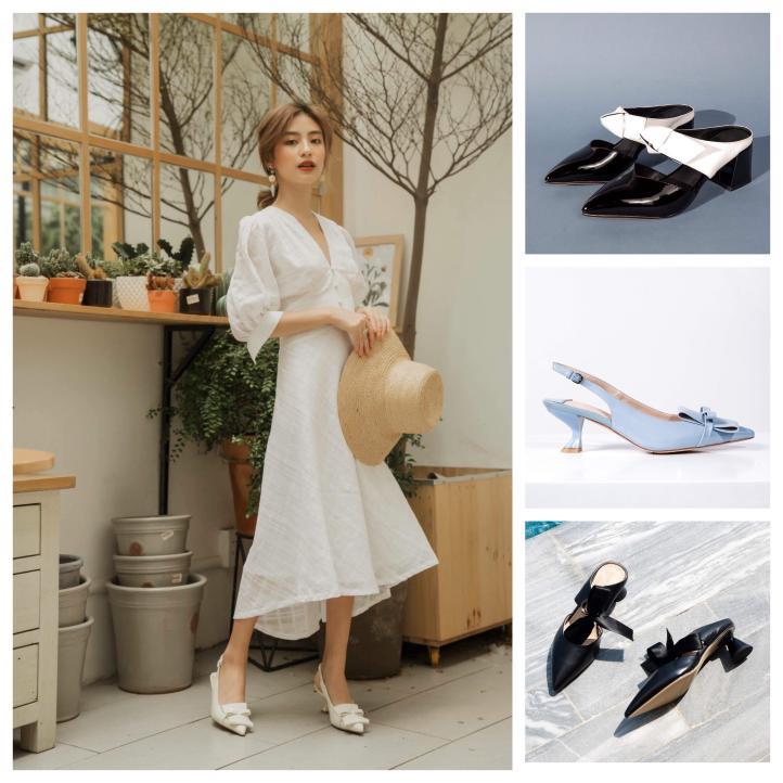 Chọn giày Tết sành điệu như fashionista - Ảnh 7.