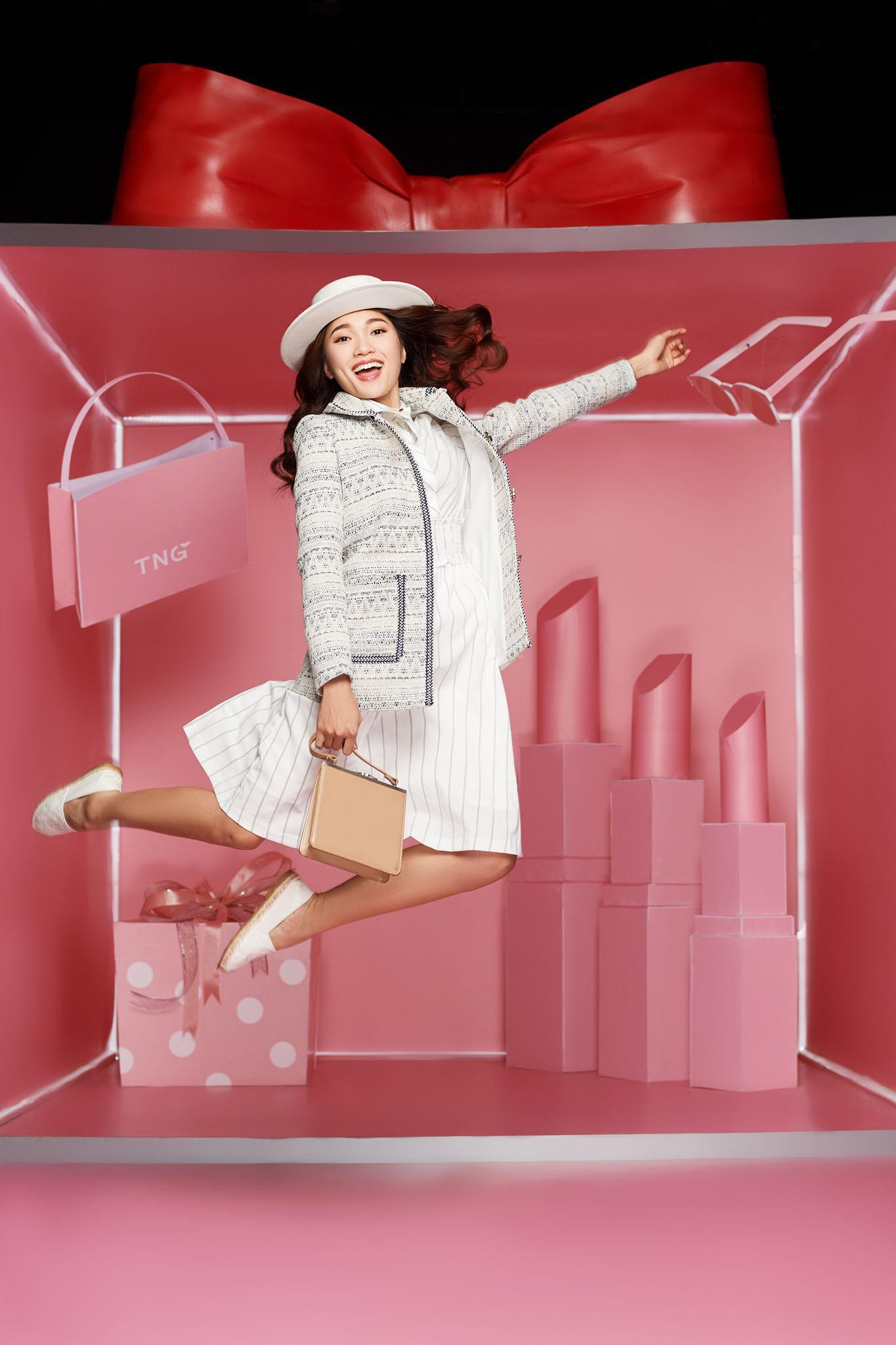 Làn gió mới cho thời trang công sở với những chuyển động cá tính - Ảnh 7.