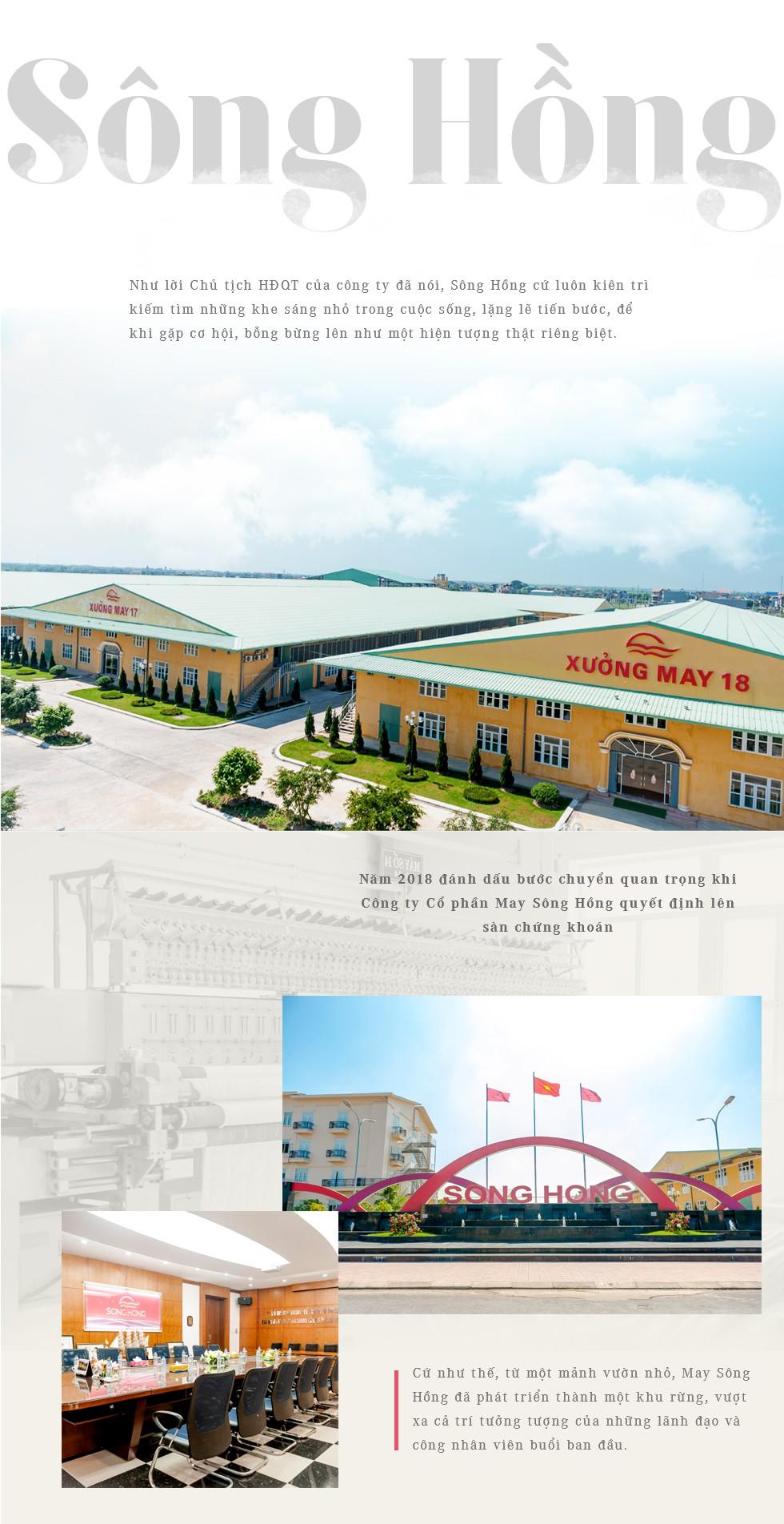 Nhìn lại hành trình 30 năm trên con đường vạn dặm của công ty may Sông Hồng - Ảnh 12.