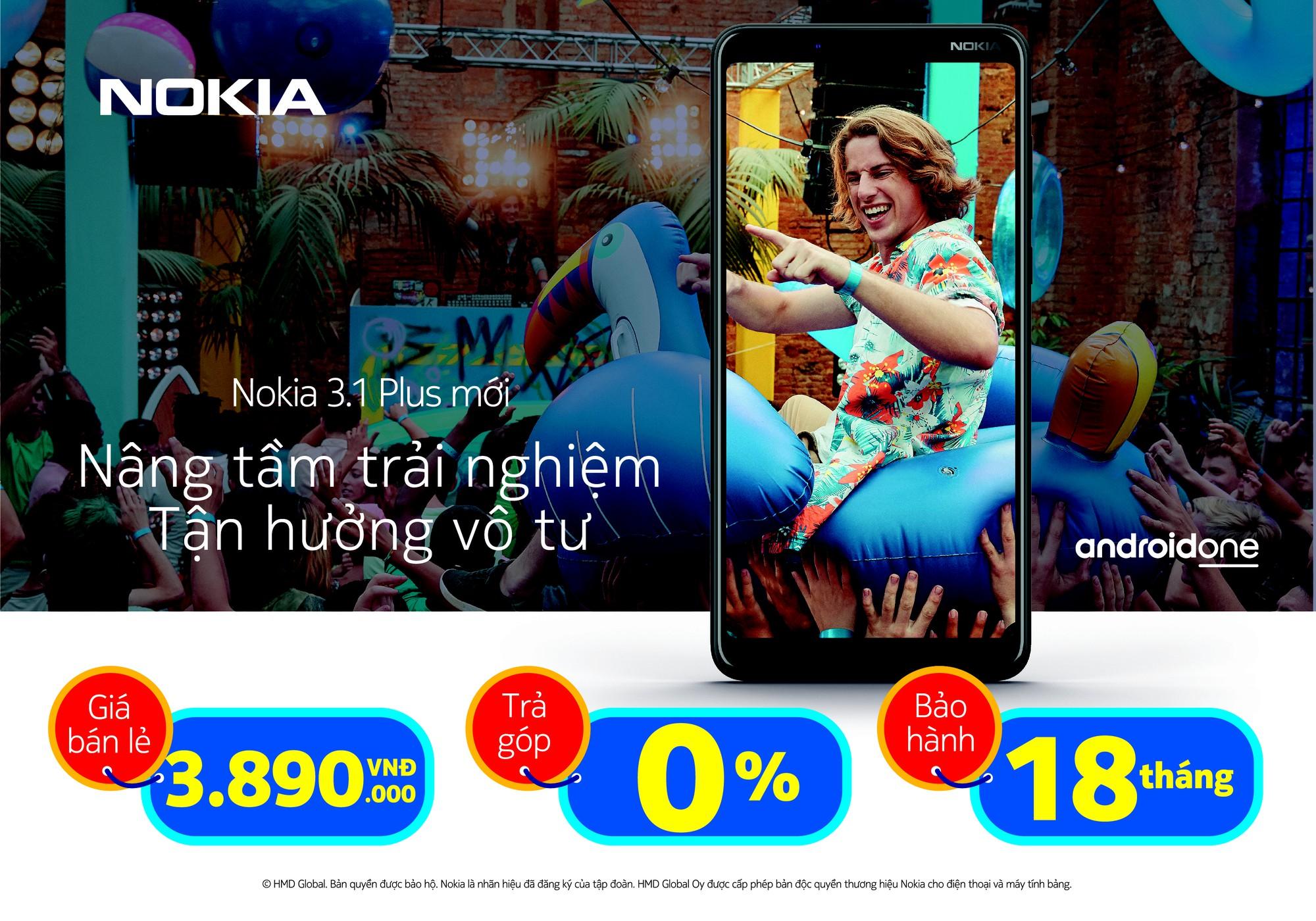 """Cùng Nokia 3.1 Plus và kế hoạch hưởng xuân cực """"chất"""" với mức giá """"siêu mềm"""" - Ảnh 4."""