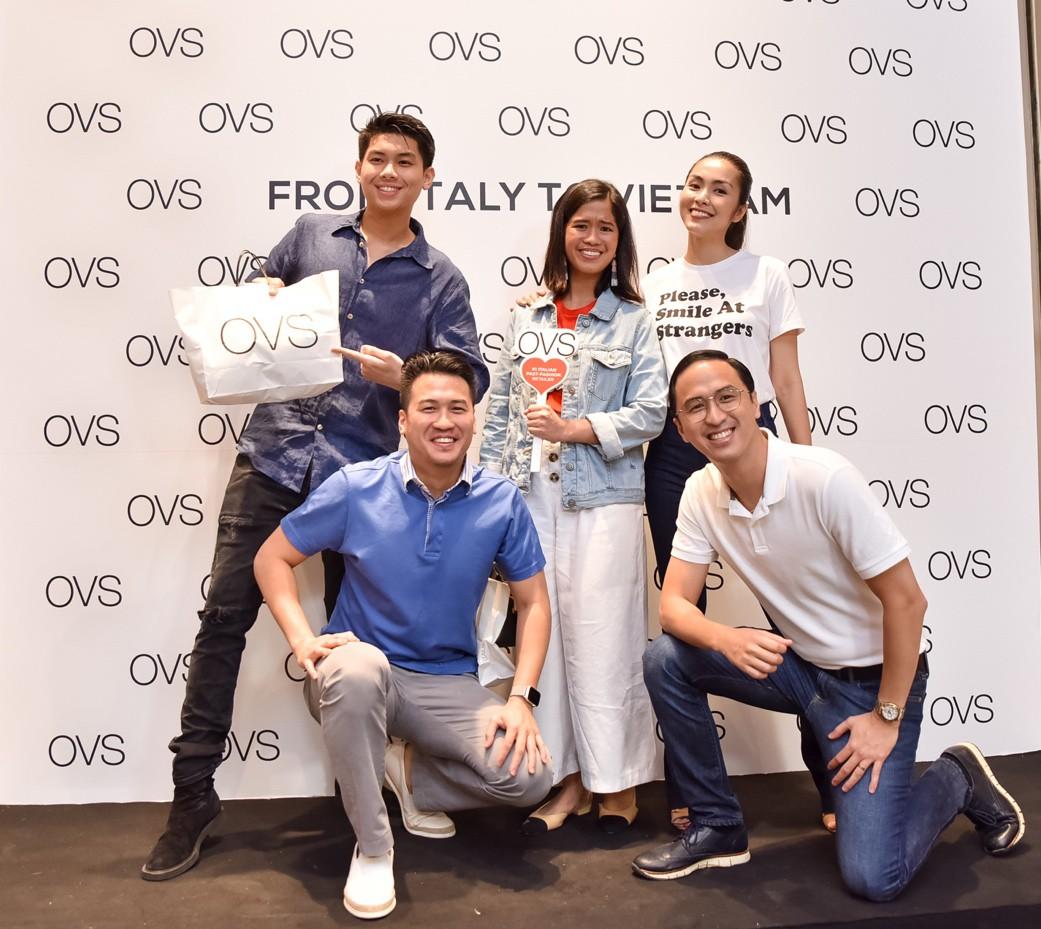 Hà Tăng rạng rỡ xuất hiện cùng chồng trong sự kiện khai trương cửa hàng OVS đầu tiên tại Việt Nam - Ảnh 3.