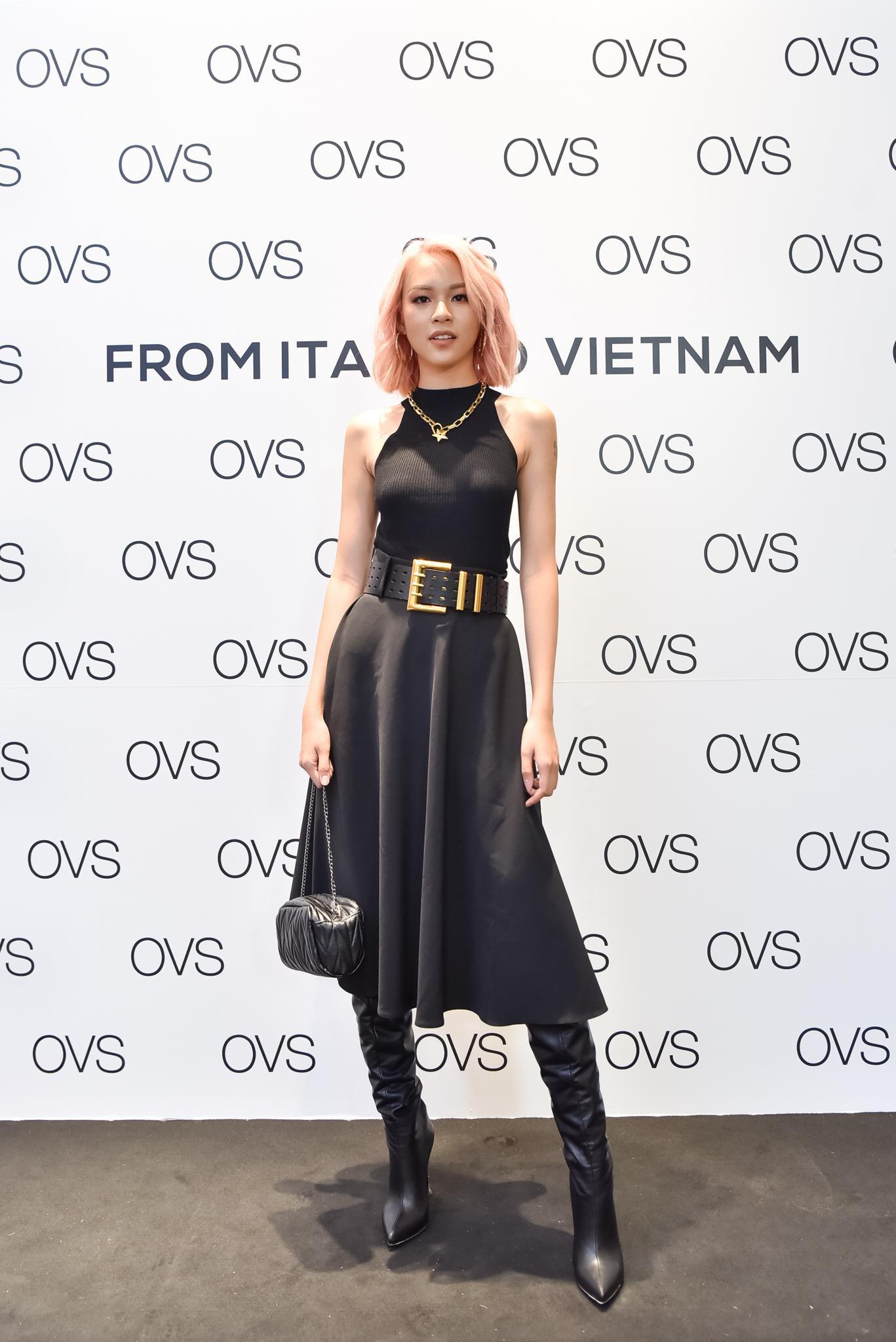 Hà Tăng rạng rỡ xuất hiện cùng chồng trong sự kiện khai trương cửa hàng OVS đầu tiên tại Việt Nam - Ảnh 5.