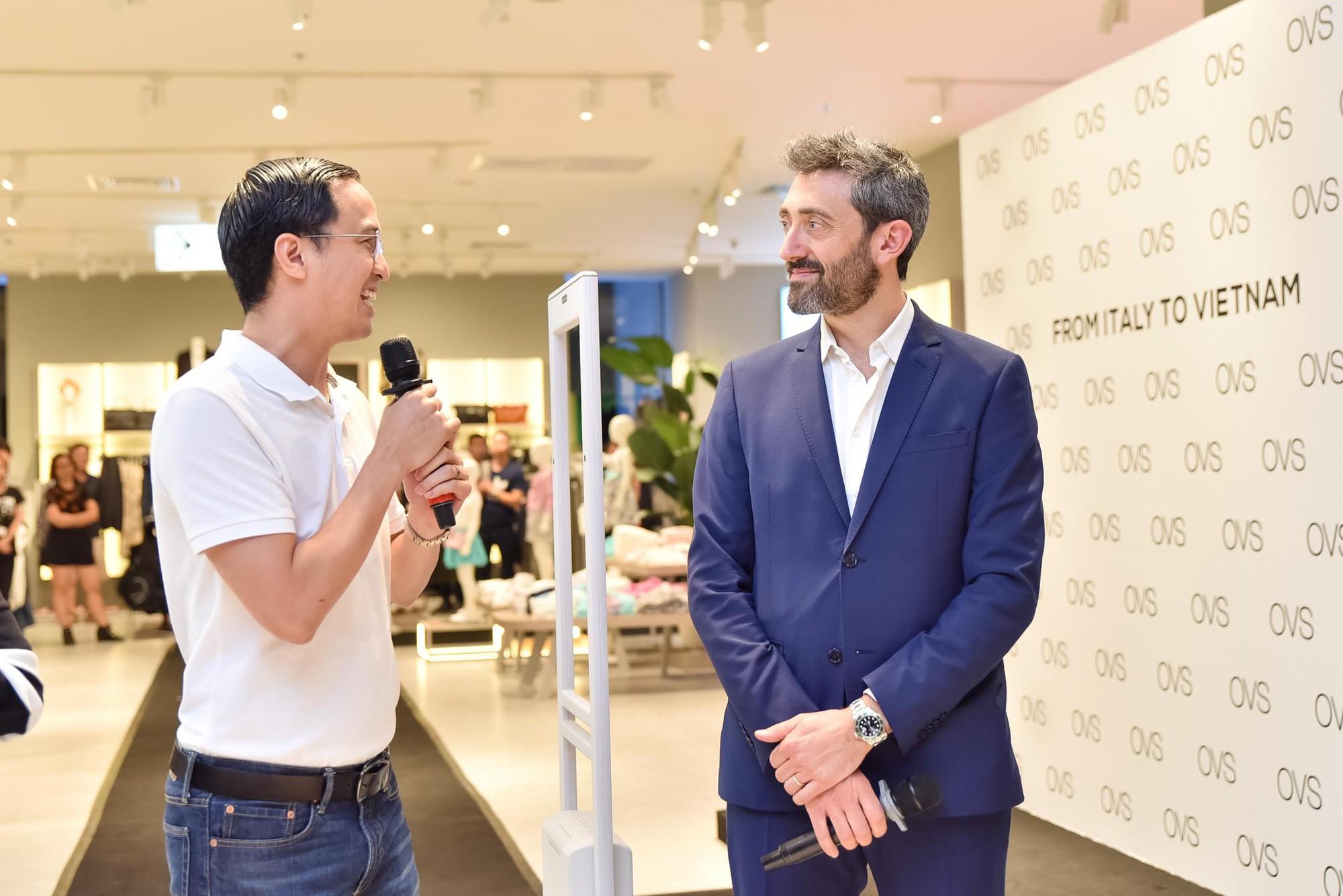 Hà Tăng rạng rỡ xuất hiện cùng chồng trong sự kiện khai trương cửa hàng OVS đầu tiên tại Việt Nam - Ảnh 11.