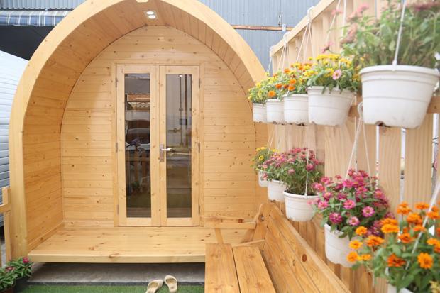 Ngôi nhà thông minh bằng gỗ có giá từ 140 triệu đồng có thể di chuyển dễ dàng ở Việt Nam - Ảnh 1.