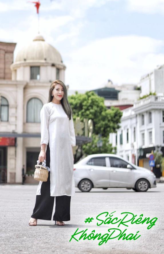 HHen Niê kêu gọi chị em phụ nữ chia sẻ kỉ niệm tỏa sáng với áo dài Việt - Ảnh 1.