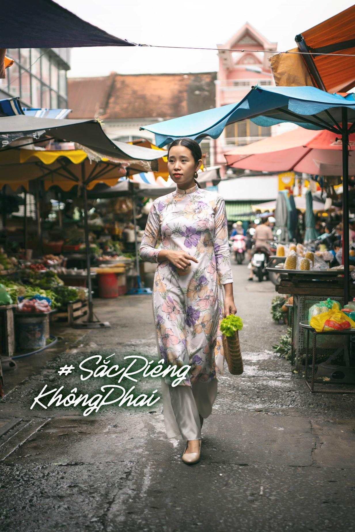 HHen Niê kêu gọi chị em phụ nữ chia sẻ kỉ niệm tỏa sáng với áo dài Việt - Ảnh 3.