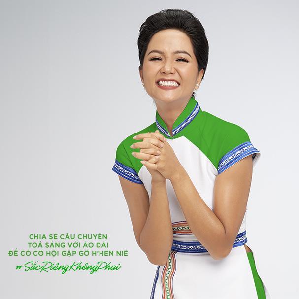 HHen Niê kêu gọi chị em phụ nữ chia sẻ kỉ niệm tỏa sáng với áo dài Việt - Ảnh 4.