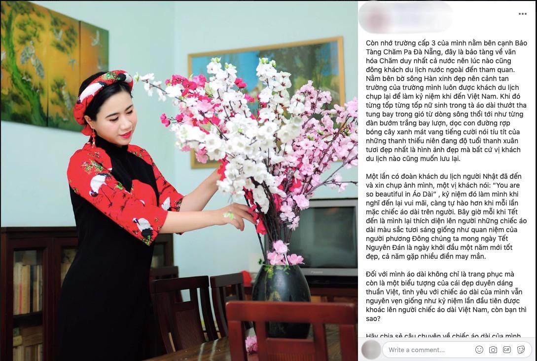 HHen Niê kêu gọi chị em phụ nữ chia sẻ kỉ niệm tỏa sáng với áo dài Việt - Ảnh 5.