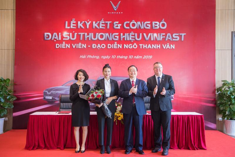VinFast công bố Ngô Thanh Vân là Đại sứ thương hiệu - Ảnh 1.
