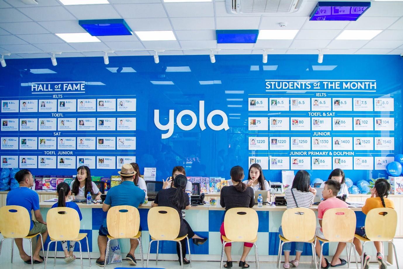 Trung tâm luyện thi IELTS YOLA - Khai phòng tiềm năng thế hệ trẻ