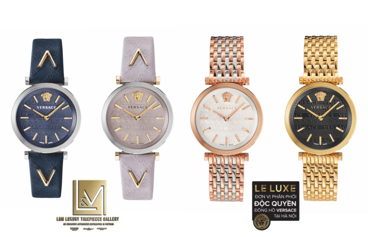 5 BST đồng hồ mới nhất 2019 của Versace Watches - Ảnh 5.