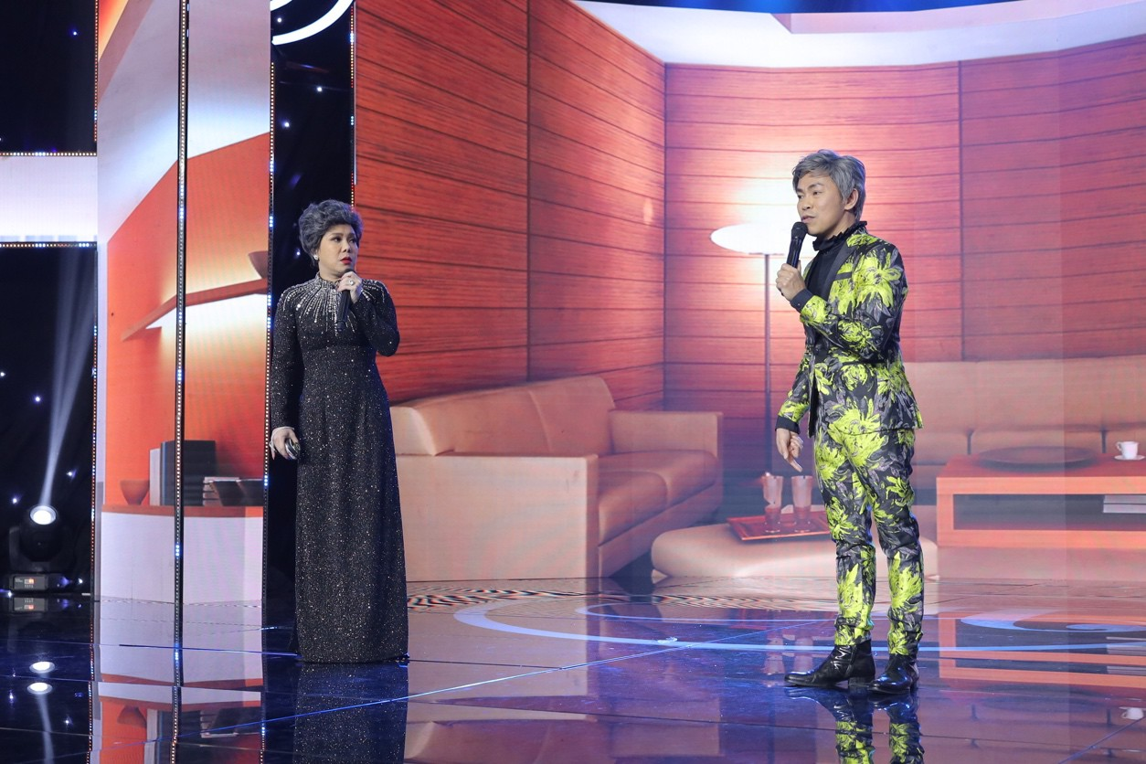 Đàm Vĩnh Hưng cùng Minh Tuyết tái hiện loạt hit trong đêm tiệc của Việt Hương - Ảnh 6.