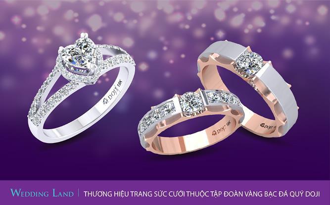 Tuần lễ Trang sức DOJI 2019: Đừng bỏ lỡ 100 cặp nhẫn cưới giá 4.999.999 đồng - Ảnh 5.
