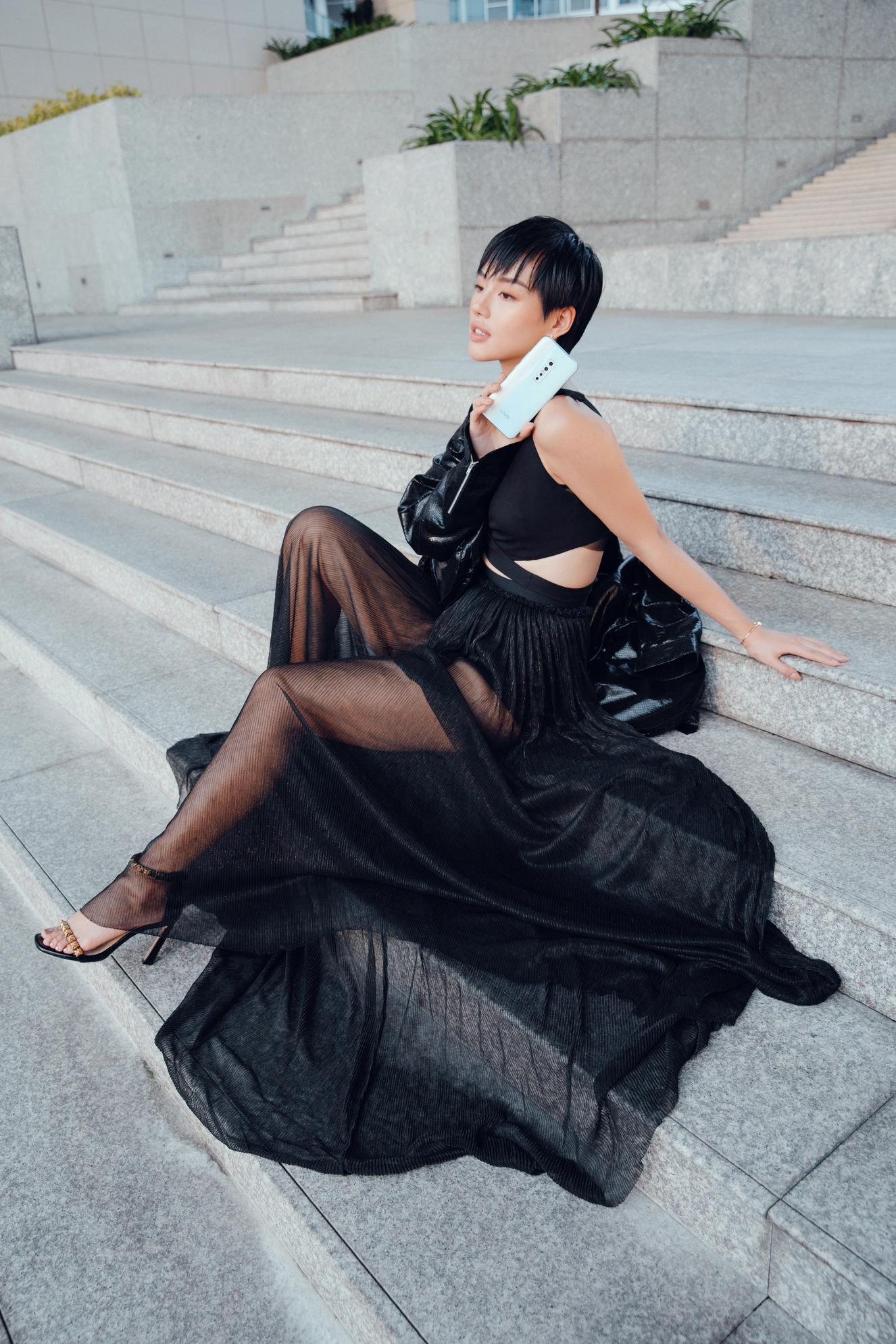 """3 bí kíp để có ngay ảnh như """"cô em trendy"""" Khánh Linh từ siêu dế vivo V17 Pro - Ảnh 8."""