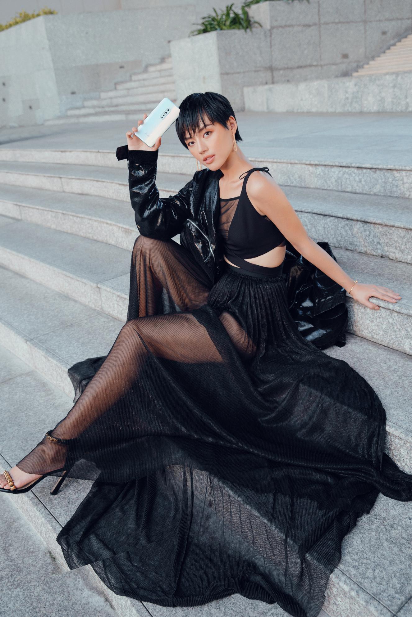 """3 bí kíp để có ngay ảnh như """"cô em trendy"""" Khánh Linh từ siêu dế vivo V17 Pro - Ảnh 9."""