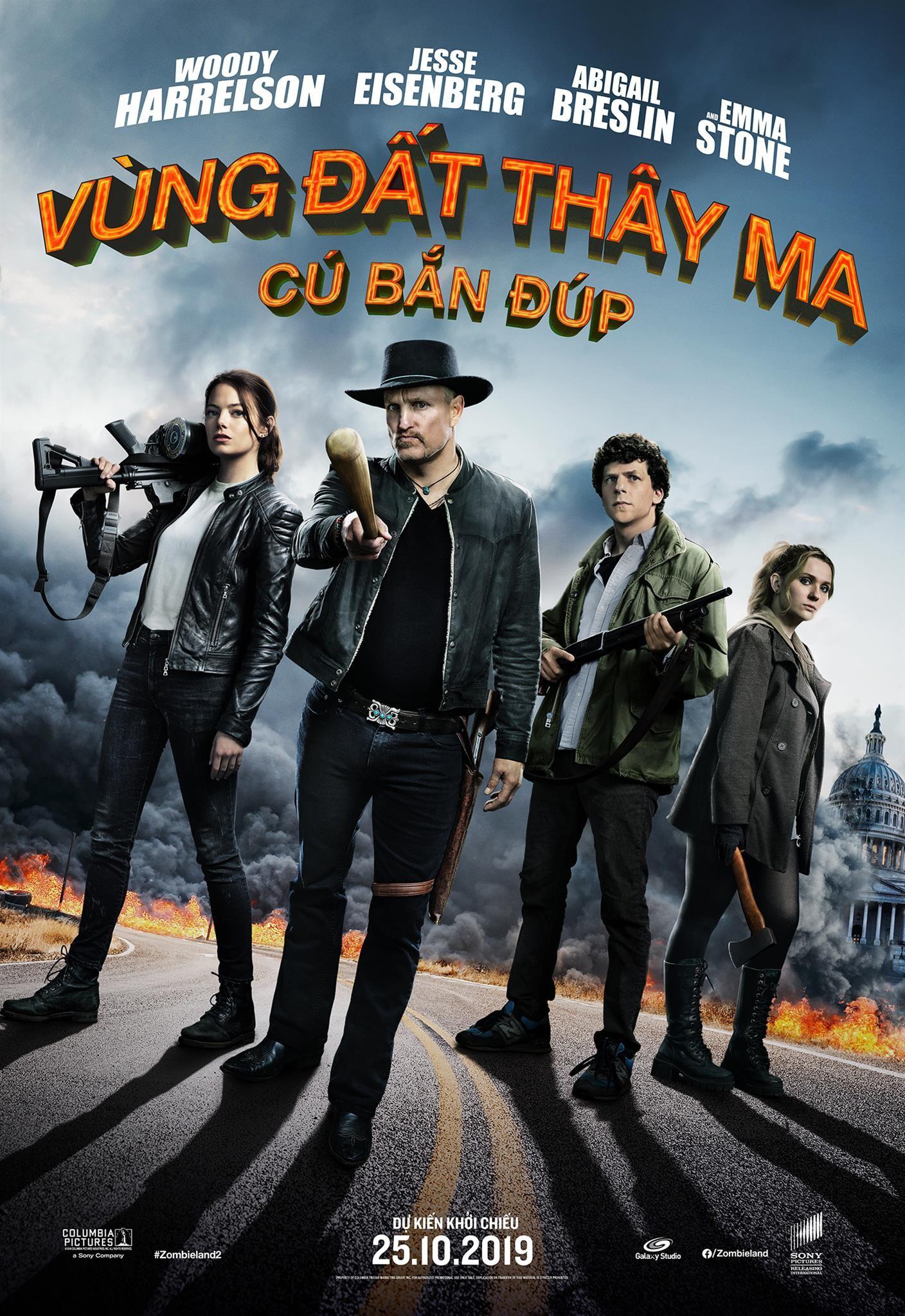 """Sau 10 năm dài, """"Zombieland"""" đã chính thức hội ngộ khán giả Việt Nam - Ảnh 2."""