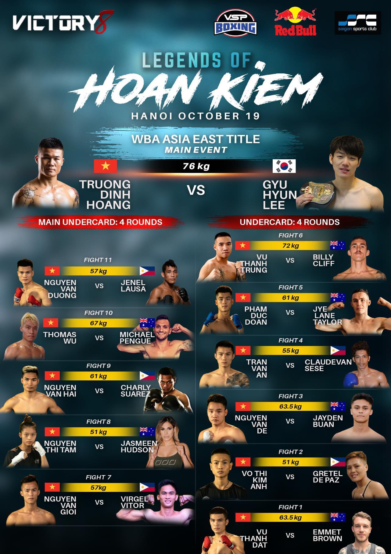 Sự kiện tranh đai Boxing nhà nghề đầu tiên tại Việt Nam tăng sức nóng với nữ ca sĩ Hoàng Thùy Linh - Ảnh 1.