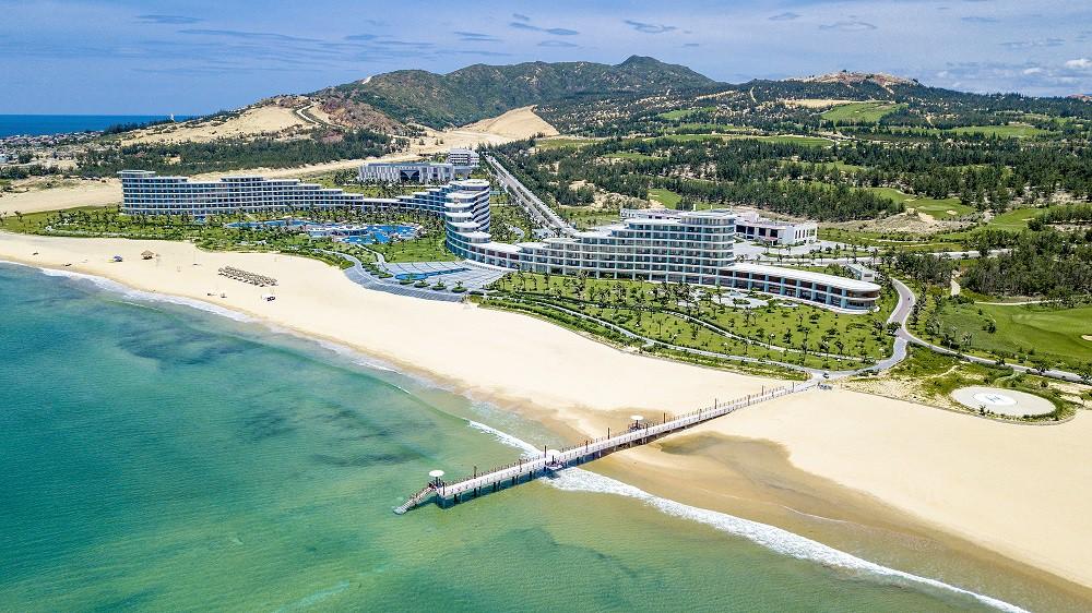 """Khám phá vẻ đẹp của quần thể vừa được WTA vinh danh """"Khu nghỉ dưỡng biển hàng đầu Việt Nam"""" - Ảnh 2."""