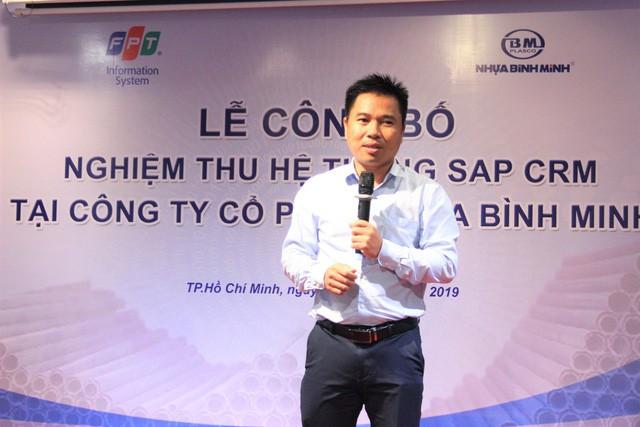 FPT IS giúp Nhựa Bình Minh nâng tầm quản trị với SAP - Ảnh 1.