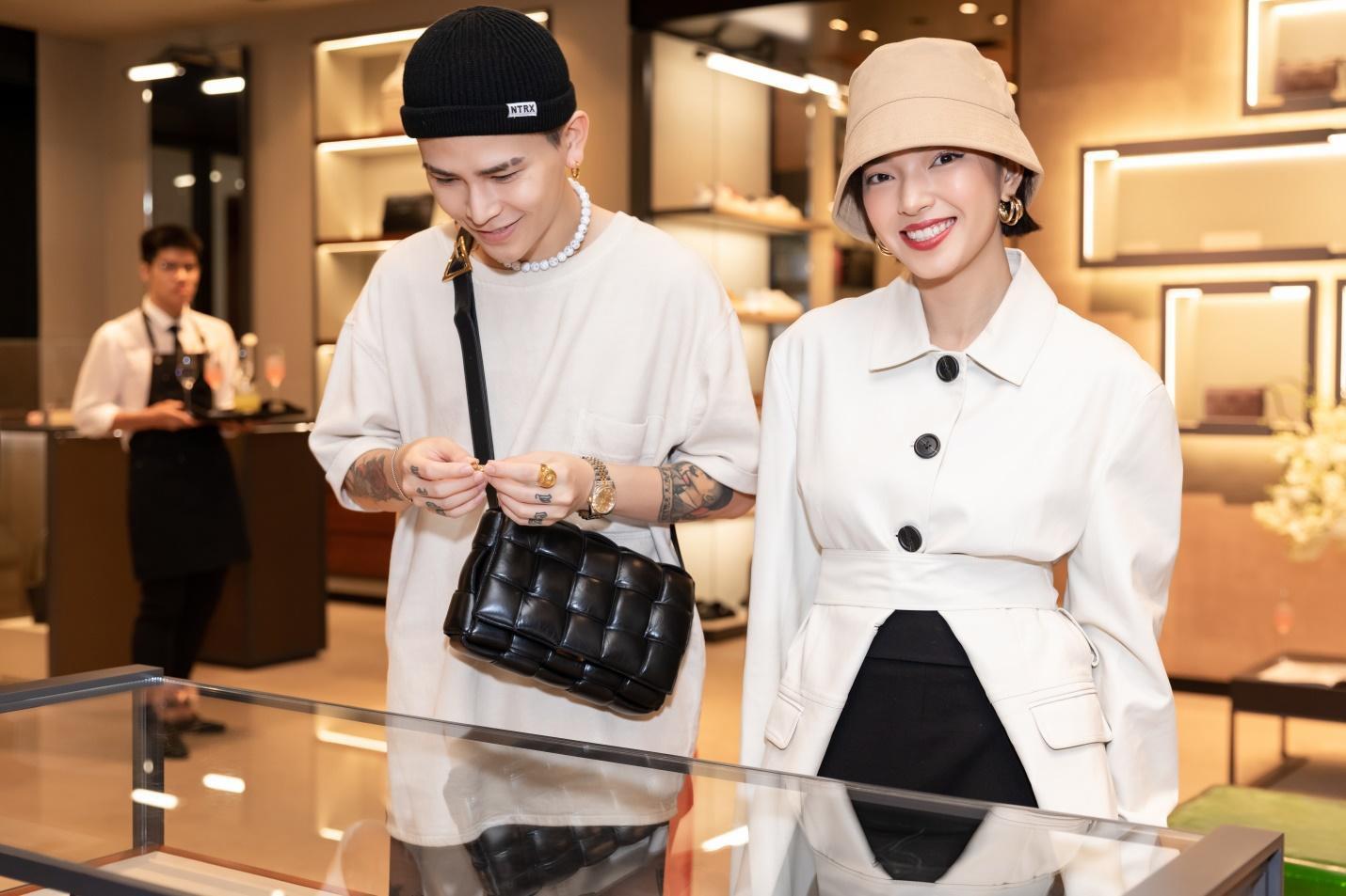 Bottega Veneta ra mắt BST mới: Dàn sao Việt yêu thời trang tụ hội, cùng khoe cá tính - Ảnh 4.