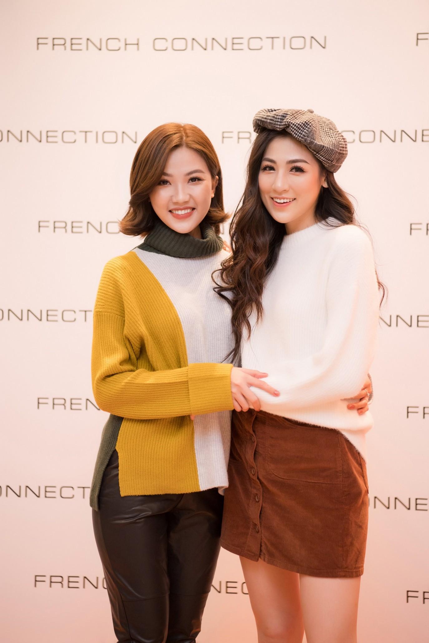 Á hậu Tú Anh ngẫu hứng phối đồ phong cách cho diễn viên Lương Thanh ngay tại sự kiện thời trang - Ảnh 1.
