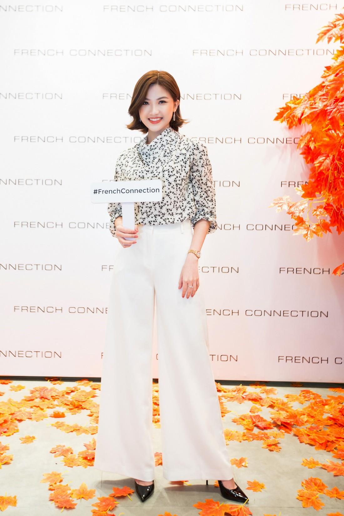 Á hậu Tú Anh ngẫu hứng phối đồ phong cách cho diễn viên Lương Thanh ngay tại sự kiện thời trang - Ảnh 2.
