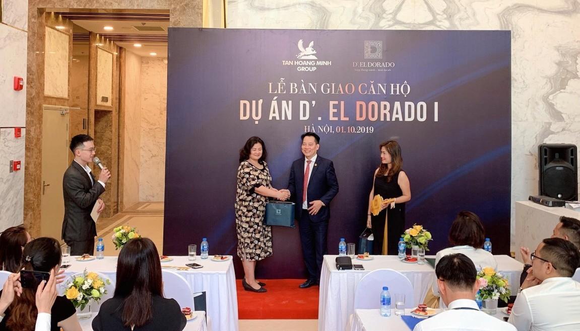 Dự án D.El Dorado I bàn giao những căn hộ đầu tiên cho khách hàng - Ảnh 1.