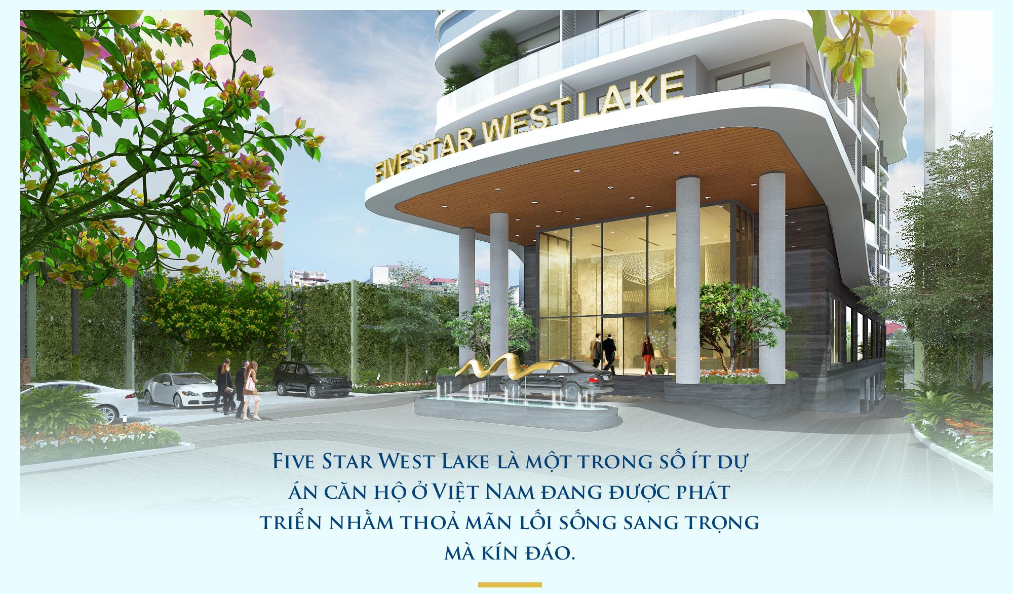 Five Star West Lake: Chuẩn mực mới của phong cách sống sang trọng - Ảnh 3.