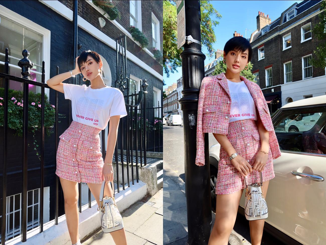 Cùng đi công tác, cùng mặc áo phông #sayit nhưng Giang Ơi và Khánh Linh lại mix đồ khác nhau một trời một vực - Ảnh 1.