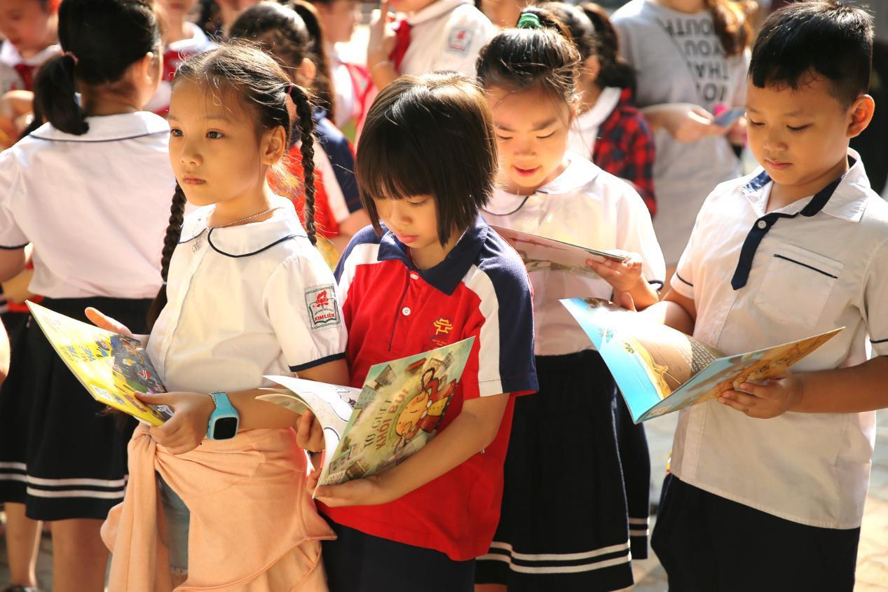 Hơn 9.000 học sinh Hà Nội bắt đầu thói quen phân loại rác tại nguồn - Ảnh 10.