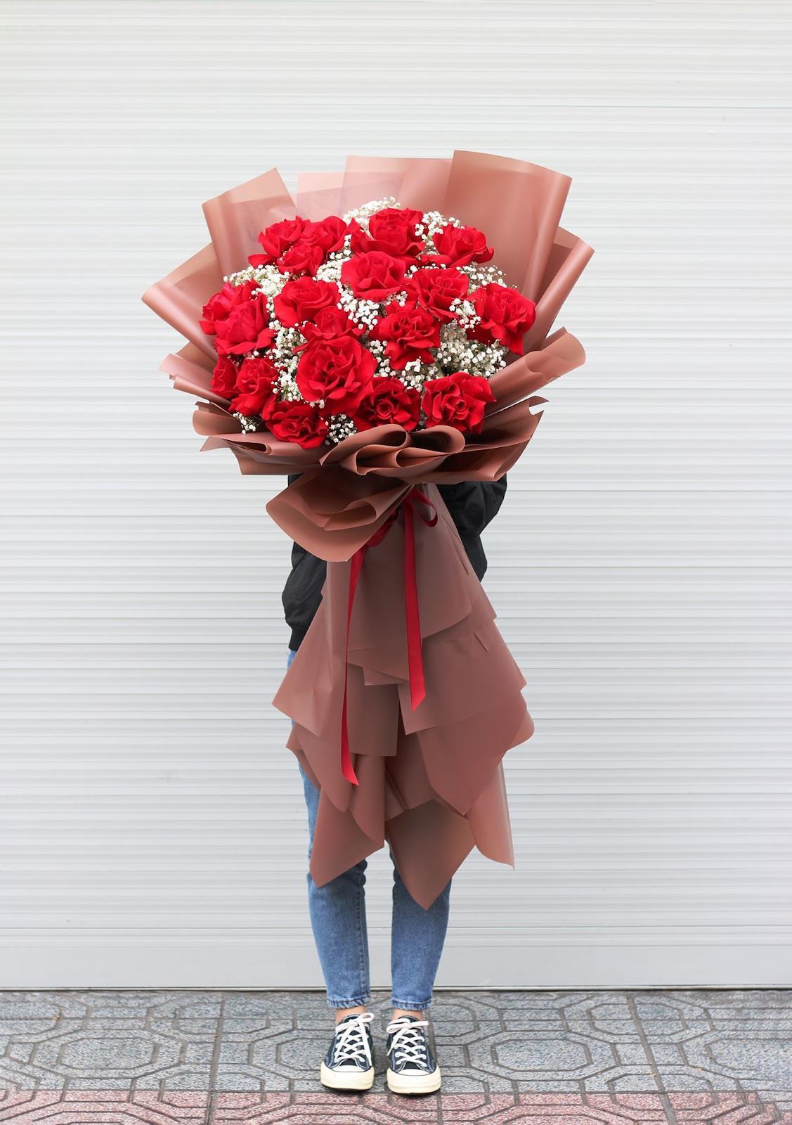 """Hoa Online 24/7: tiết lộ xu hướng hoa """"siêu to khổng lồ dành tặng phái nữ ngày 20/10 - Ảnh 2."""