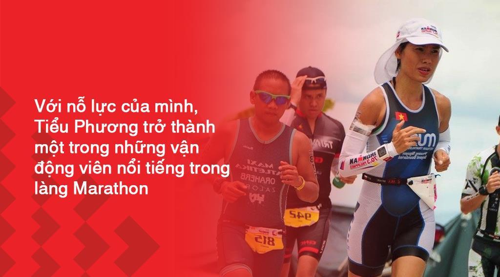 Marathon Techcombank 2019: Tiểu Phương và hành trình của bông hồng thép làng chạy Việt - Ảnh 4.