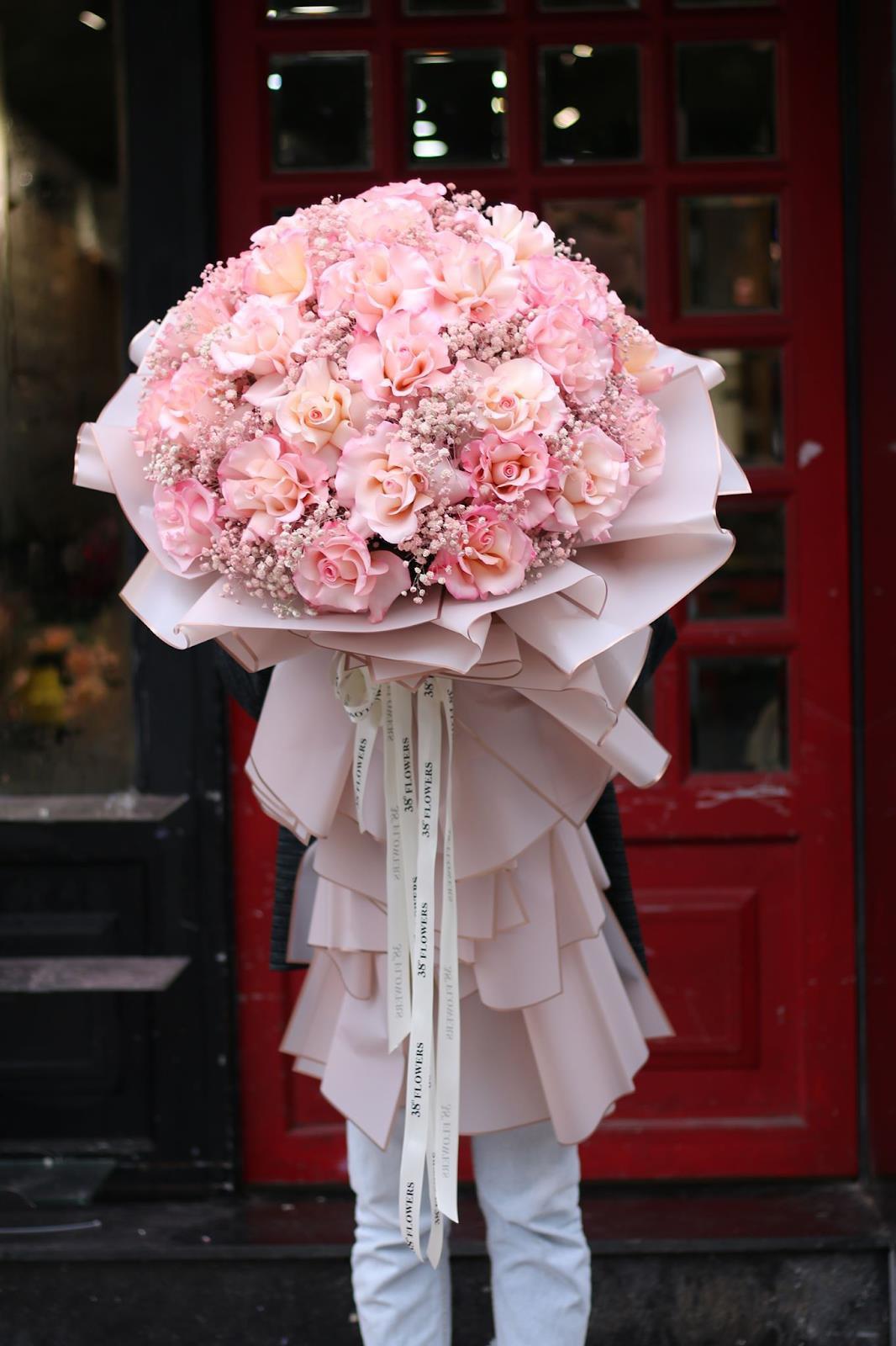 """Hoa Online 24/7: tiết lộ xu hướng hoa """"siêu to khổng lồ dành tặng phái nữ ngày 20/10 - Ảnh 4."""