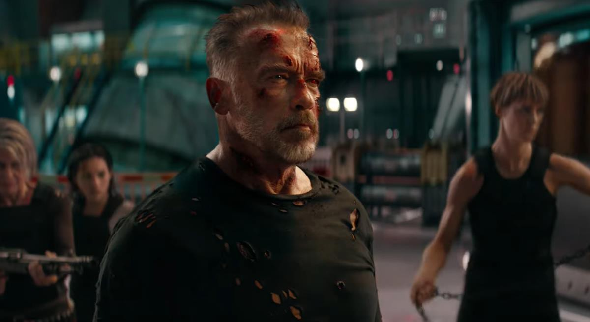 """""""Terminator: Dark Fate"""" – Màn tái xuất ấn tượng của Sarah Connor với vô số pha hành động đỉnh cao - Ảnh 1."""