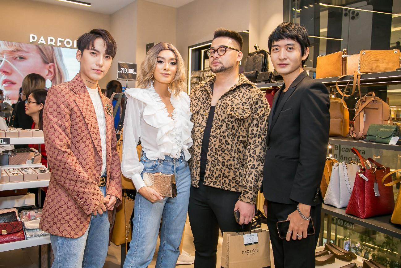 Kaylee Kwang, Thảo Nhi Lê, Linh Rin và Kye Nguyễn xúng xính tham dự sự kiện khai trương cửa hàng mới của PARFOIS Việt Nam - Ảnh 1.