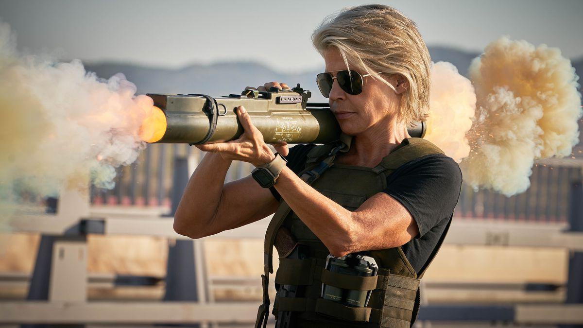 """""""Terminator: Dark Fate"""" – Màn tái xuất ấn tượng của Sarah Connor với vô số pha hành động đỉnh cao - Ảnh 5."""