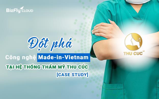 Thẩm mỹ Thu Cúc - Đột phá công nghệ Made-in-Vietnam trong quá trình số hóa hạ tầng dịch vụ - Ảnh 1.