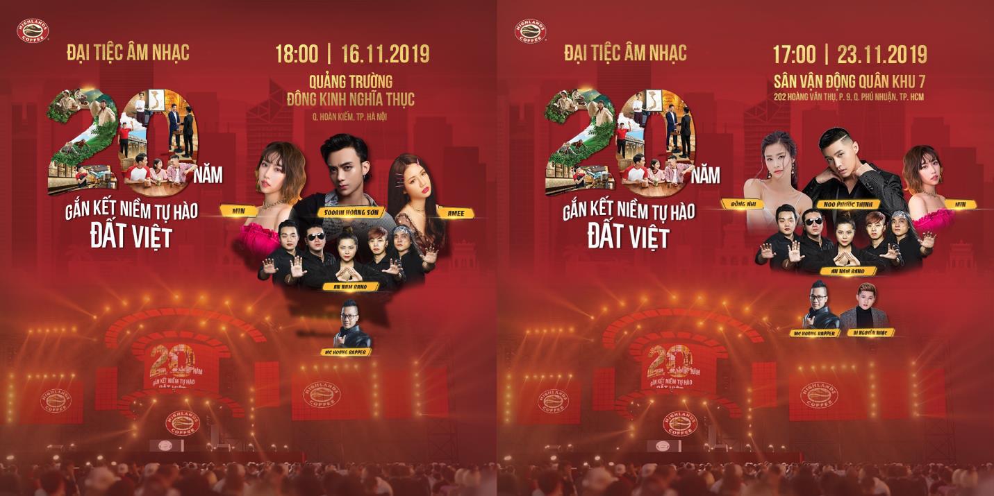 """Hơn 6.000 bạn trẻ Đà Nẵng bùng nổ cùng đại tiệc âm nhạc """"Highlands Coffee – 20 nắm gắn kết niềm tự hào đất Việt"""" - Ảnh 11."""