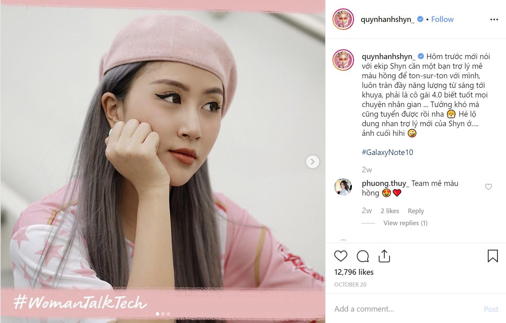 Trợ lý màu hồng của Ninh Dương Lan Ngọc, Thanh Hằng, Diễm My 9X, Phương Ly - Ảnh 3.
