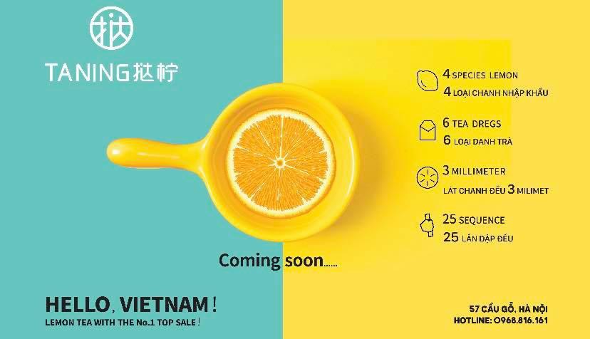 """Taning Việt Nam – """"Cơn sốt"""" trà chanh chính hiệu Đài Loan chính thức ra mắt tại Hà Nội - Ảnh 2."""