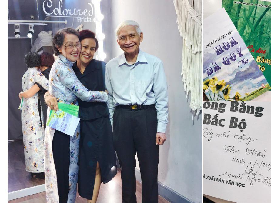 Chuyện cô trò nhỏ tặng 100 áo dài cho các thầy cô Chuyên ngữ - Ảnh 4.