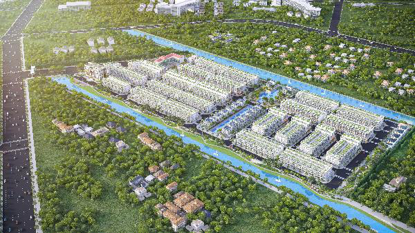 Dự án Lago Centro đã có sổ đỏ từng lô - Ảnh 1.